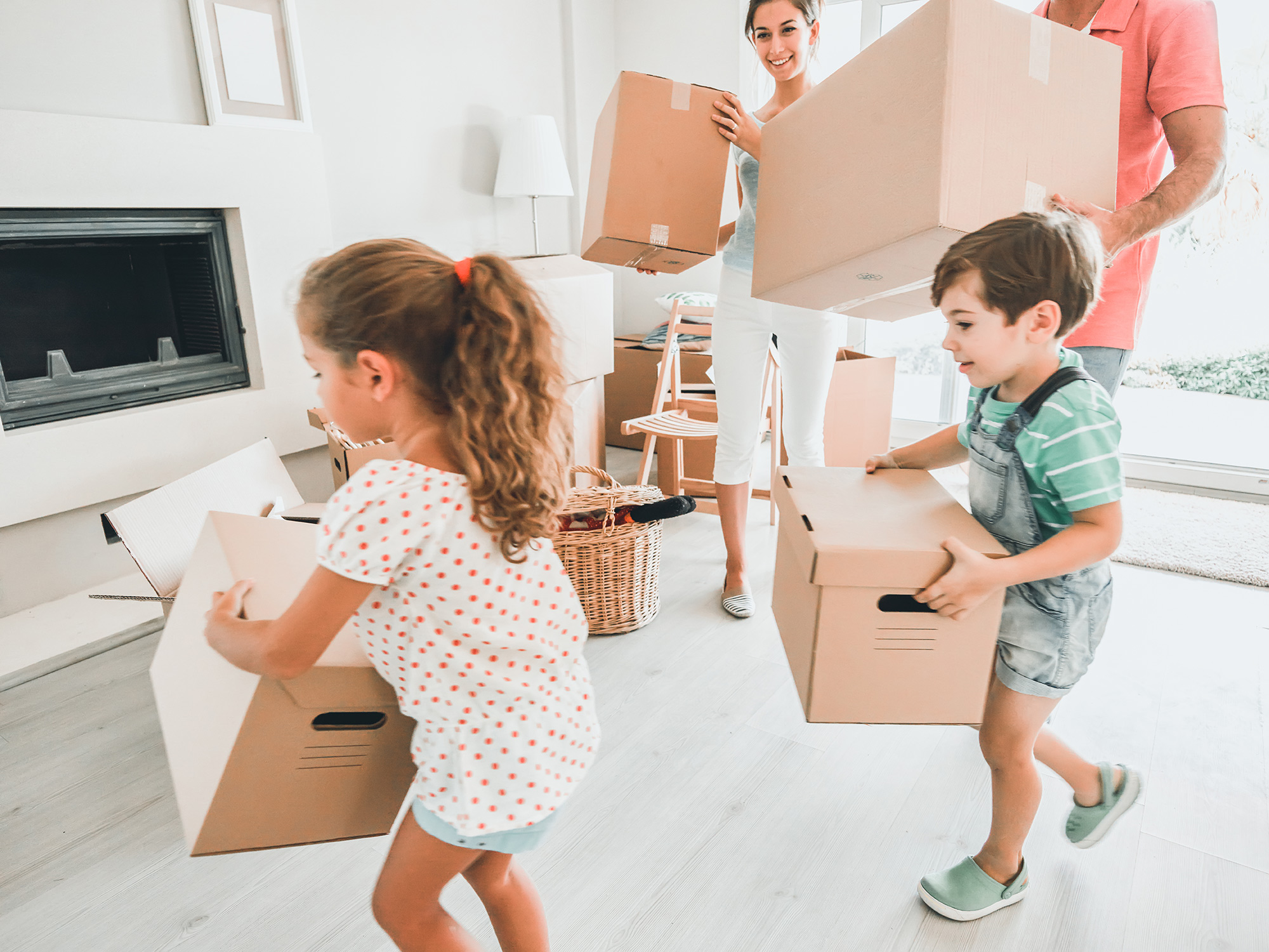 Family Moving In to Home | THA Mortgage